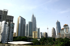 Petronas Twin Towers - City View