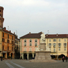 Piazza Cavour And The Torre Dellangelo.