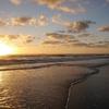 Piha Beach Sunset - Auckland NZ