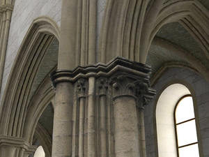 Pillar from the 12th Century