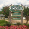 Pineville Welcome Sign