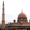 Pink-domed Putra Mosque