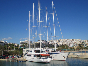Piraeus Departure Transfer: Central Athens to Cruise Port Photos