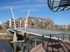 Platte River Pedestrian Bridge - Denver CO