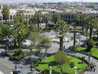 Plaza de Armas de Arequipa