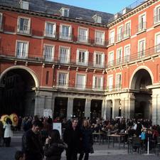 Plaza Mayo Revening In Madrid