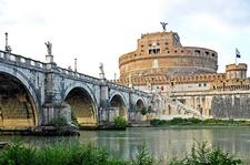 Ponte Sant'Angelo & Castel Sant'Angelo - Rome