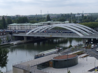 Railway Bridge Pontoise