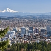 Portland With Mount Hood OR