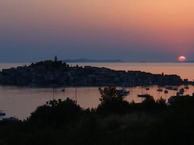 Sunset In Primosten