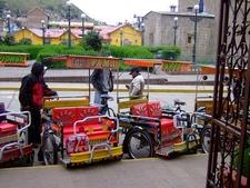 Puno City Peru - Taxi Stand
