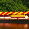 Puppet Theatre Barge On The River Thames