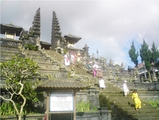 View Of Pura Besakih