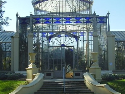Palm House At The Adelaide Botanic Gardens