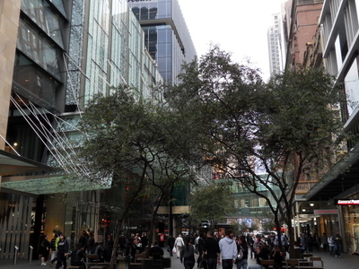 Pitt Street Mall Looking North