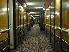Queen Mary Hotel Cabin Corridor