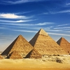 Queen's Pyramids From Giza Plateau