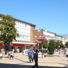 Large Pedestrianised Shopping Area In The Town Centre