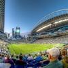 Qwest Field - Seattle Sounders (fisheye)