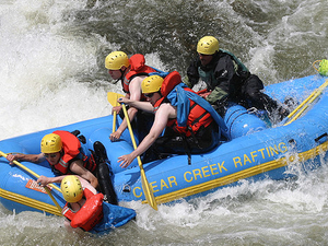 Rafting Ello River At Magelang Photos