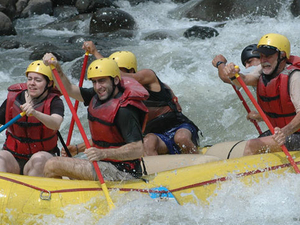 Whitewater Rafting on the Pacuare River in Costa Rica Photos