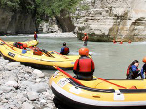 Rafting in the Osumi Kanyon Photos