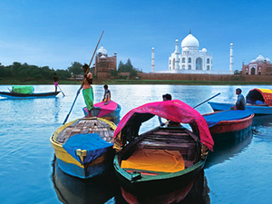 Enchanting Rajasthan with Taj Mahal Photos