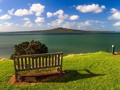 Rangitoto Island From Devonport NZ
