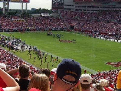 Game Action At Raymond James Stadium
