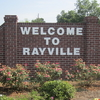 Rayville Welcome Sign