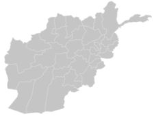 Regional Map Of Afghanistan