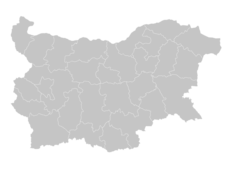 Regional Map Of Bulgaria