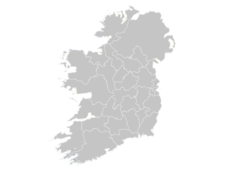 Regional Map Of Ireland