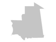 Regional Map Of Mauritania