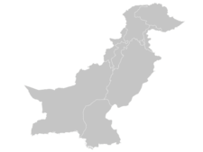 Regional Map Of Pakistan