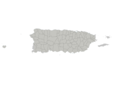 Regional Map Of Puerto Rico