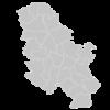 Regional Map Of Serbia