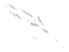 Regional Map Of Solomon Islands