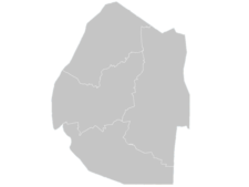 Regional Map Of Swaziland