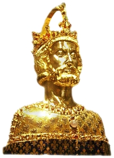 Reliquary Bust Of Charlemagne