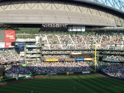 Retractable Roof Open Safeco Field