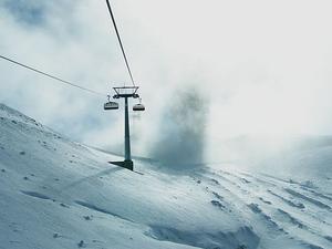 Titlis from Zürich: Eternal Snow Photos