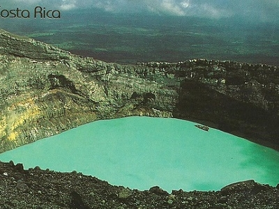 Rincon De La Vieja Volcano Crater