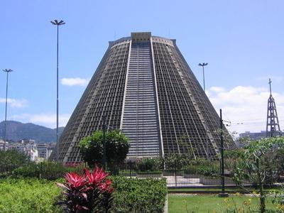 Rio De Janeiro Cathedral Exterior