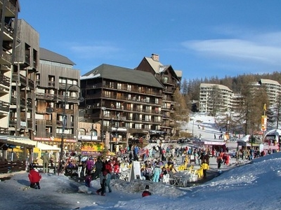 Risoul Main Ski Station And Winter Park