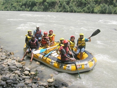 River Rafting In Beas River Near Kullu HP