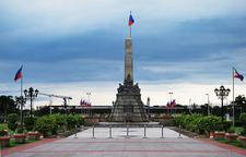 Rizal Monument Facing Quirino Grandstand