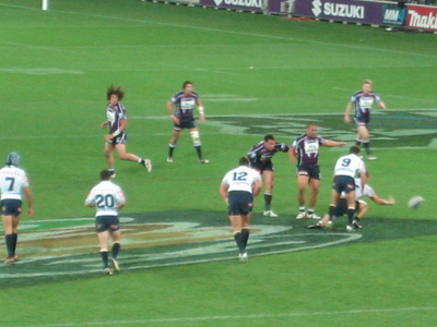 Rugby League Being Played At AAMI Park