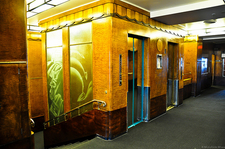 RMS Queen Mary Elevator Shafts