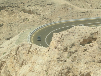 Road To  Jebel  Hafeed